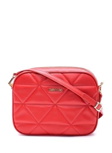 Derimod Messenger / Askılı Çanta Kırmızı